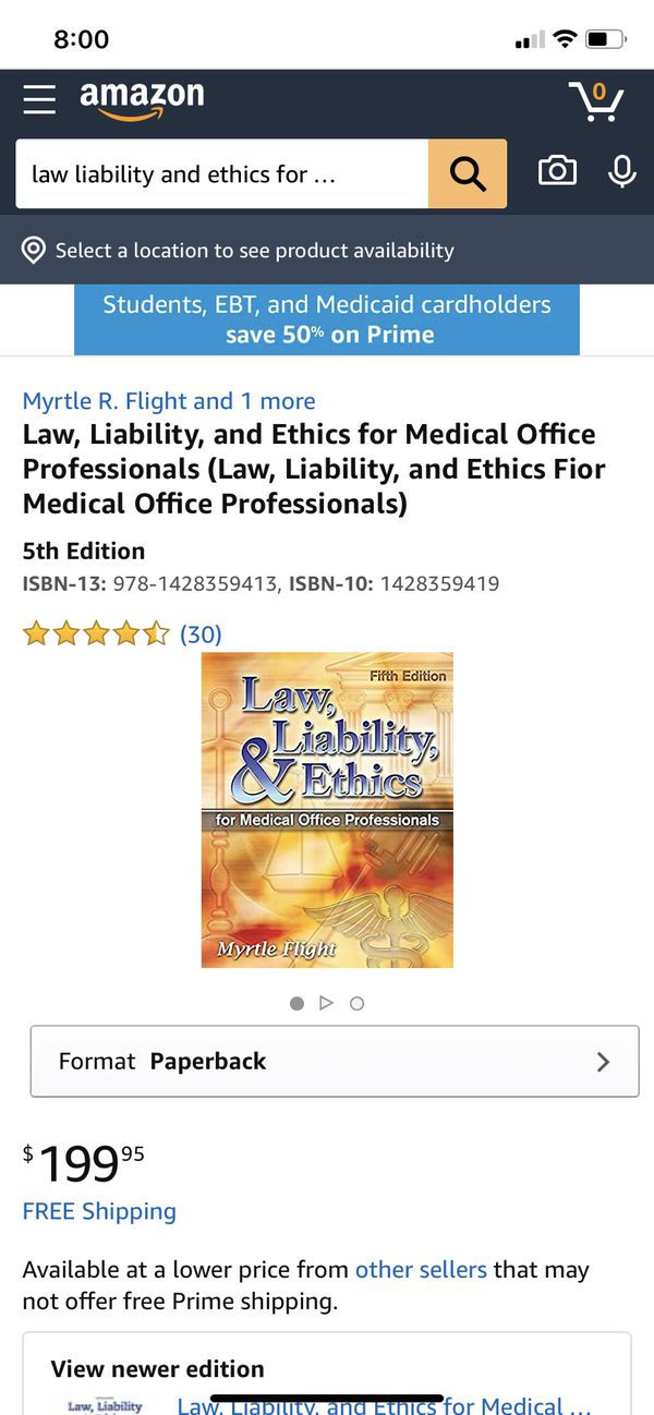 Law, liability and ethics