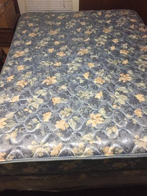 Queen size bed, box springs, and frame for Sale in Humboldt, TN