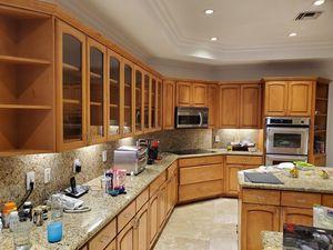 Kitchen cabinets, large kitchen for Sale in Miami Beach, FL