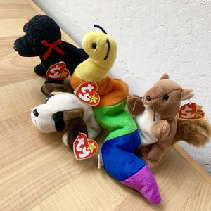 Vintage ty Beanie Babies Plush Toy Lot of 4 for Sale in Elizabethtown, PA