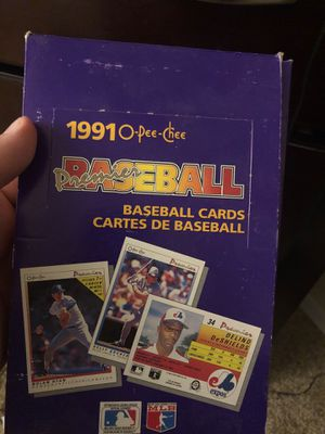 Baseball cards 1991 O-pee chee for Sale in Lake Worth, FL