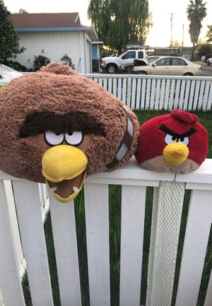 Angry birds Plushies for Sale in Acampo, CA
