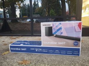 Samsung Q60T Soundbar (Open Box; New) for Sale in Kirkland, WA