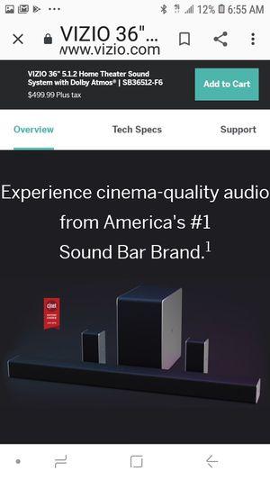 Vizio home theater sound system for Sale in San Leandro, CA