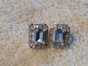 Real Diamond's and semi precious stones earings for Sale in Willow Street, PA