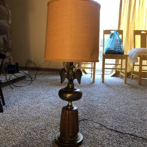 Vintage Brass Eagle Lamp for Sale in Newburgh Heights, OH