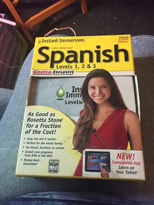Rosetta Stone Spanish for Sale in Plainville, CT