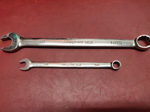 Snap on 11/16 and 3/8 flank drive wrenches for Sale in Trenton, NJ
