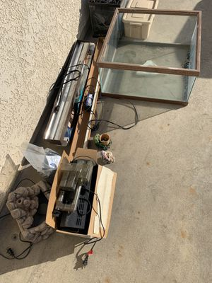 Misc. aquarium and lights and parts for Sale in West Covina, CA