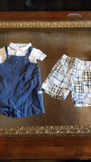 Boys 6-12 mo Janie and Jack shorts and bibs with shirt. for Sale in Las Vegas, NV