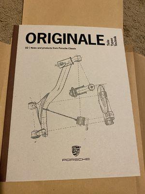 Porsche Classic Originale Book for Sale in Scottsdale, AZ