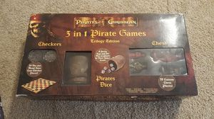 Pirates of the Caribbean chess game for Sale in San Diego, CA