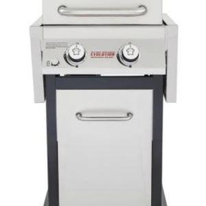 Nexgrill Evolution dual burner BBQ Grill w/ propane and utensils for Sale in Marina del Rey, CA