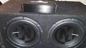 Speakers in car amplifier for Sale in Fairfield, CA