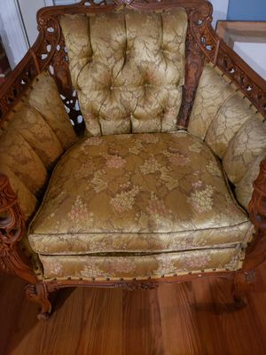 Antique custom built chair and couch for Sale in Decatur, GA