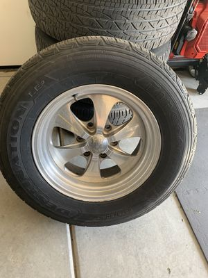 4 TIRES WITH RIMS for Sale in Lathrop, CA