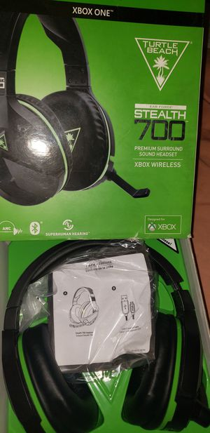Turtle Beach Xbox one wireless gaming headset for Sale in Fontana, CA