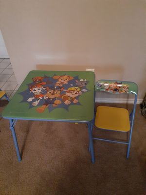 Kids Table and chair for Sale in Plano, TX