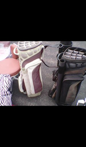 His and her golf bags for Sale in Eau Claire, WI