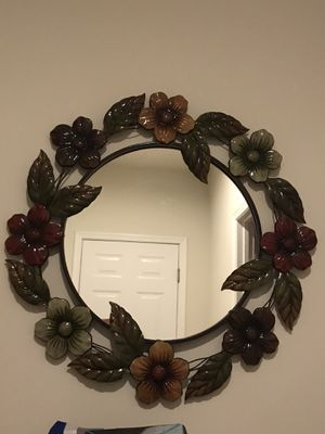 Big metal Decorative mirror for sale for Sale in Ashburn, VA