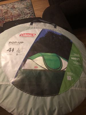 Coleman 4 Person Pop-Up Tent for Sale in Jacksonville, FL