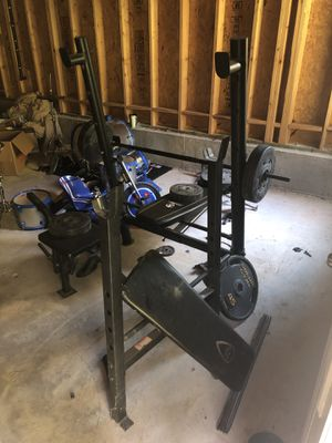 Great weight set price is negotiable for Sale in Powder Springs, GA