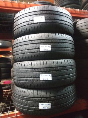 P275/55R20 Set Bridgestone Dueler Alenza Edition 275/55R20 Matching treads 275 55 20 for Sale in Fort Lauderdale, FL