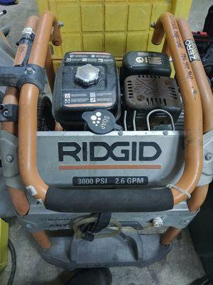 Pressure washer, Rigid brand, 3000 psi for Sale in Fort Lauderdale, FL