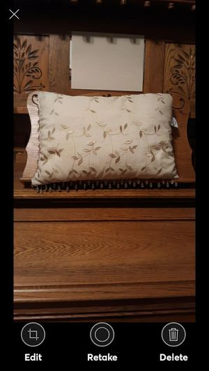 CHRISTOPHER LOWELL COLLECTION THROW PILLOW for Sale in Lynchburg, VA