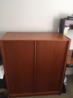 Teak Wood Dresser for Sale in Stamford, CT