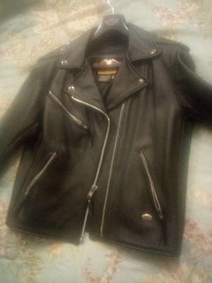 Harley Davidson women's leather biker jacket for Sale in Minocqua, WI