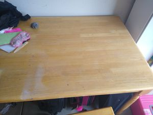 Wooden Table/Chairs/Bench for Sale in Surprise, AZ