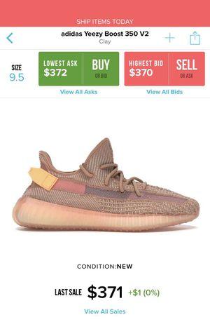 Adidas Yeezy Boost 350 V2 Clay for Sale in San Antonio, TX