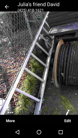 aluminum ladder for Sale in Mill Creek, WA