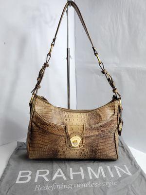 Authentic Vintage Brahmin Croc Embossed Shoulder bag PRICE FIRM 🚫 for Sale in San Antonio, TX