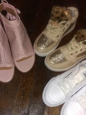 Girls 1s& 2s Fancy Fabulous foot wear for Sale in St. Louis, MO