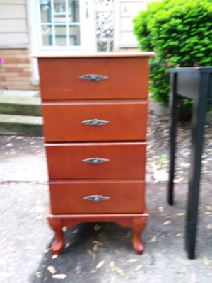 Wood 2- Drawer Filing Cabinet for Sale in Westlake, OH