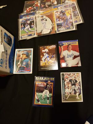 Multiple old baseball cards for Sale in Chicago, IL