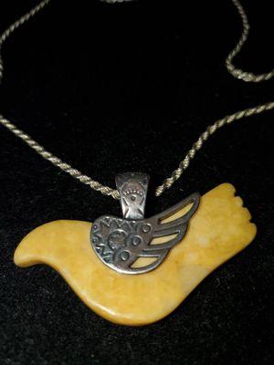 Hermosa y Antigua paloma. Y cadena 925 for Sale in San Jose, CA
