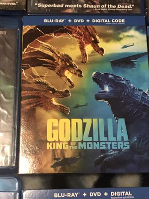 Godzilla King of the Monsters Blu-ray DVD for Sale in Gardena, CA