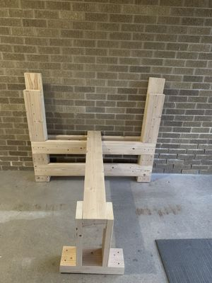Wood Bench Press Olympic Size. for Sale in Elk Grove Village, IL