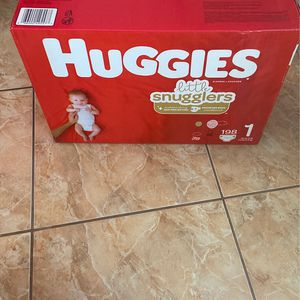 198 size 1 diapers for Sale in Hialeah, FL