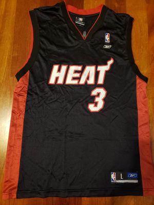 Dwyane Wade Miami Heat NBA basketball Jersey size large for Sale in Gresham, OR