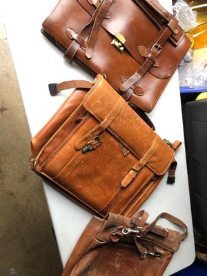 Leather Large Satchel Bags (3) for Sale in Manassas, VA