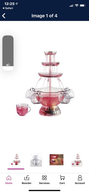 Lighted Party Fountain for Sale in Fresno, CA