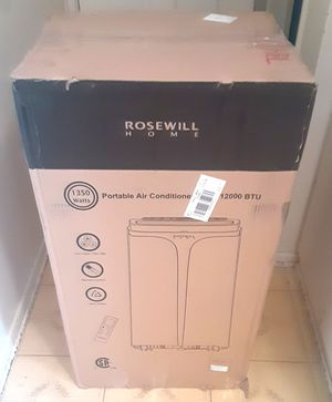 """""NEW"" ROSEWILL HOME PORTABLE AIR CONDITIONER/HEATER/DEHUMIDIFIER-W/REMOTE for Sale in Covina, CA"