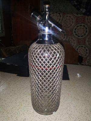 Antique spritzer/soda bottle for Sale in Ridgefield, WA