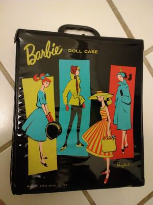 Barbie Doll Case 1961 Black Vinyl Ponytail Version **10.00 FIRM** for Sale in Orlando, FL