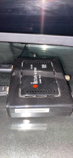 I star receiver with tv 43 Inch no smart for Sale in Dearborn Heights, MI