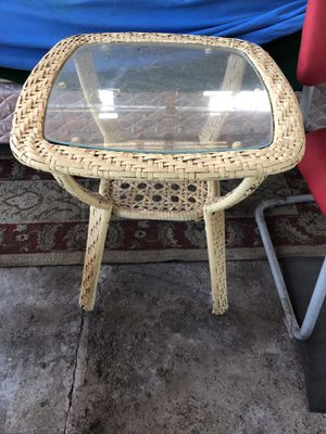 Glass patio table for Sale in San Diego, CA
